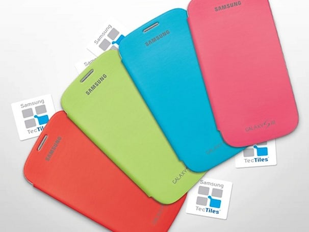 Samsung offers free flip covers and TecTiles for GS III and Note II device registrations
