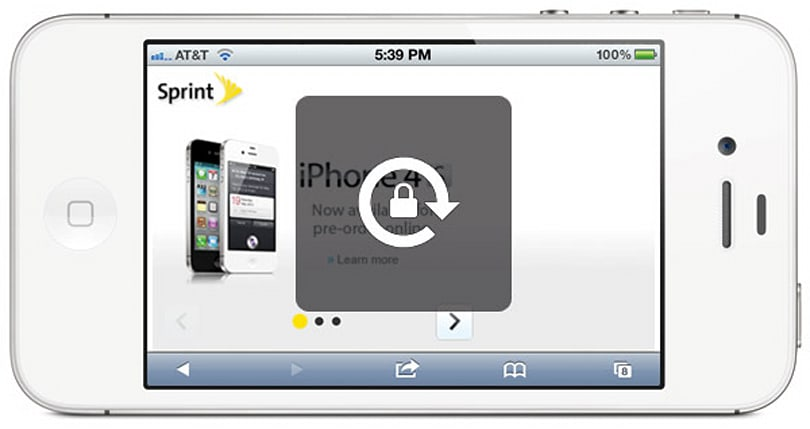 Sprint pushes SIM lock to iPhone 4S customers, offers to undo it for good boys and girls
