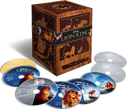 The Lion King officially comes to Blu-ray, Blu-ray 3D October 4th after a short 3D-only theater run