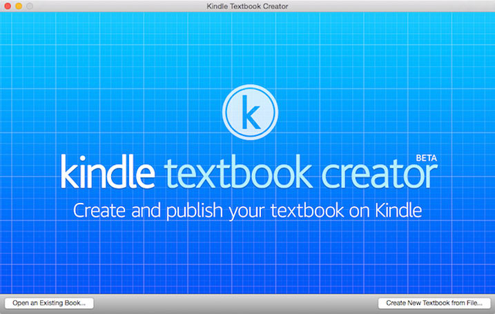 Amazon delivers Kindle Textbook Creator for Mac beta (Updated)