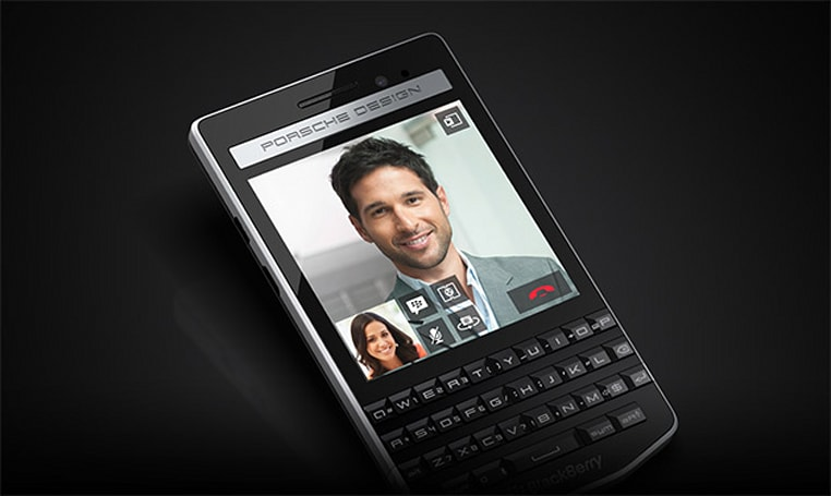 BlackBerry's latest Porsche Design smartphone is real, ridiculous