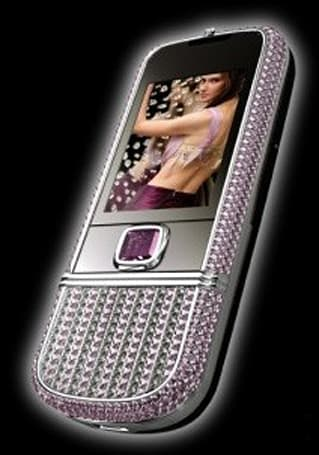 Peter Aloisson gives Nokia 8800 a $131,000 diamond-studded makeover