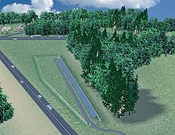 "Oregon begins building first ""solar highway"" project"