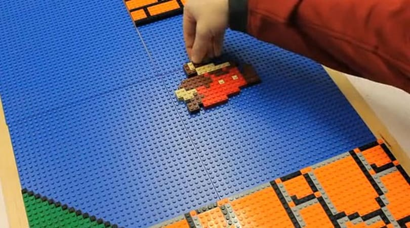 Insert Coin: 'Epic Mario' aims to build entire Super Mario Bros. Level 1-1 with Legos (video)