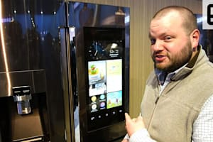 Samsung Family Hub Smart Refrigerator CES 2016