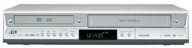 JVC's DR-MV7S VCR / DVD combo recorder promises to upscale VHS