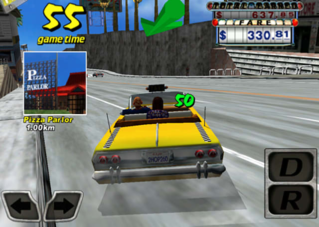 Crazy Taxi is fast, fun and, for a limited time, free
