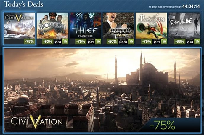 Steam Holiday Sale day 15: Thief series, Civilization V, Bastion