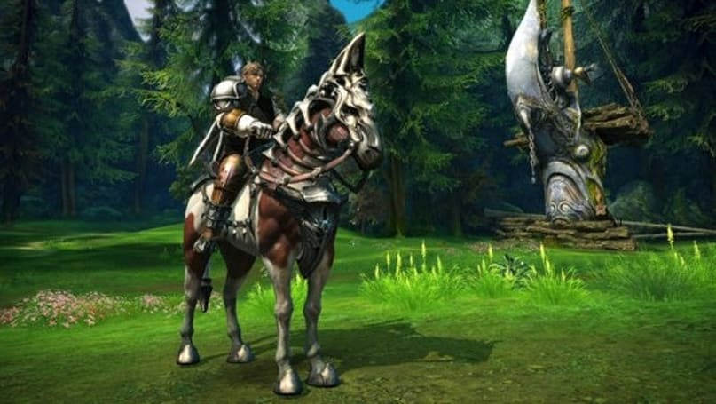 Amazon offers exclusive mount for TERA pre-orders