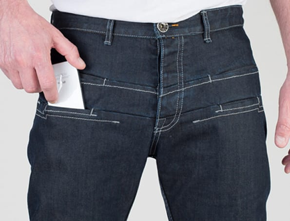These hideously ugly, radiation-blocking jeans are apparently great for your iPhone