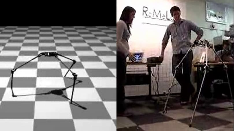 STriDER: Virginia Tech's creepy, three-legged bot