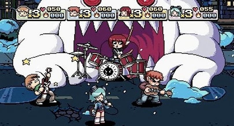Scott Pilgrim vs. the world of video games