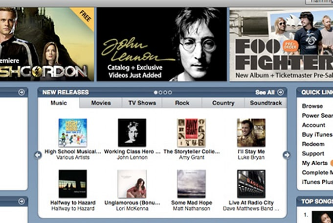 John Lennon on iTunes
