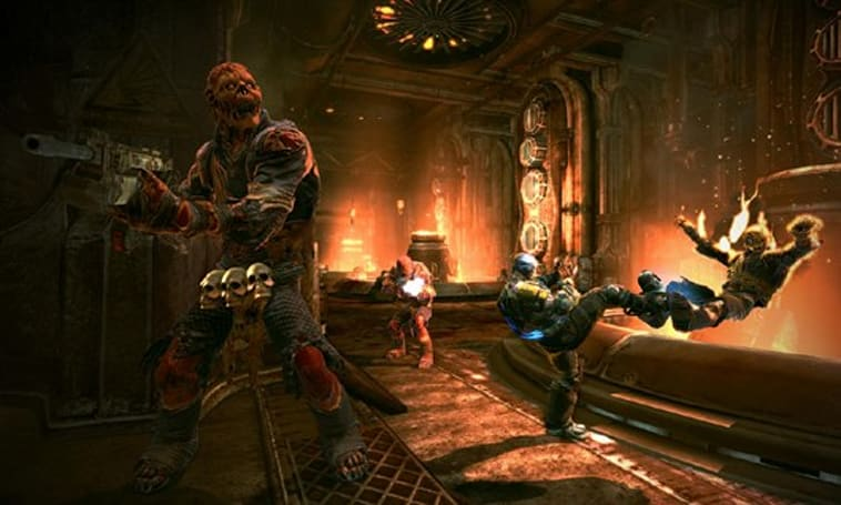 Bulletstorm 'Anarchy' screens show strength in numbers