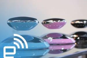 A Levitating Bluetooth Speaker