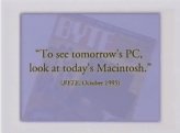 In this 1996 video Apple talked incredibly polite trash about Windows 95