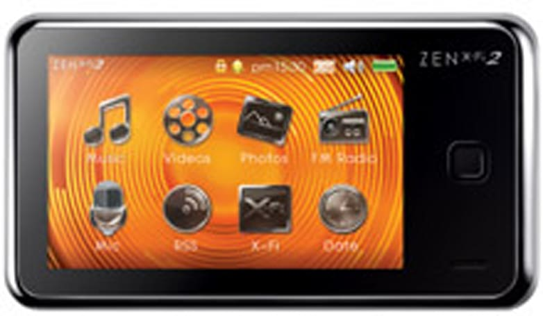 Creative's ZEN X-Fi2 touchscreen PMP now on sale