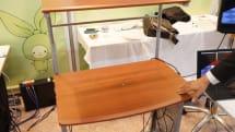 「触覚を持つ机」を埼玉大学が開発。机に触れてPCを操作、家電への応用も