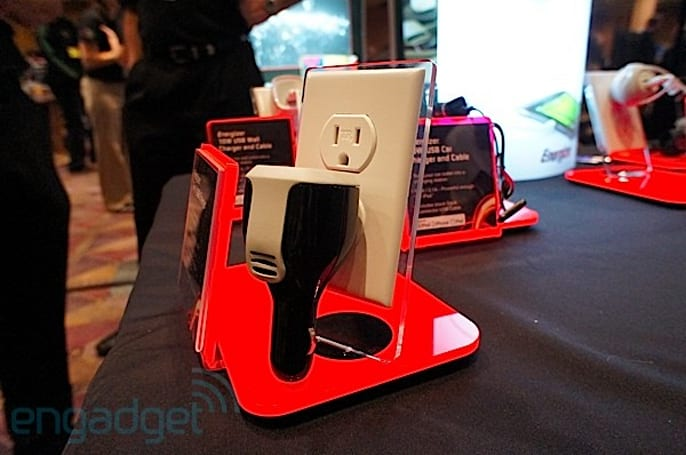 Eyes-on with Energizer's LED lighting solutions and USB chargers at CES 2012