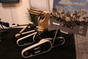 Metal Storm demos FireStorm firearm-equipped iRobot bot