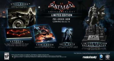 Batman: Arkham Knight Limited Edition is $63 via Wal Mart