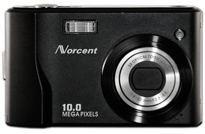 Norcent cranks out 10-megapixel DCS-1050 camera