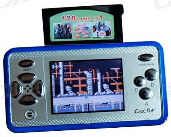 Cool Boy handheld gaming system is anything but