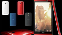 HTC One's plastic cousin (E8) officially shown off with M7 design, M8 guts
