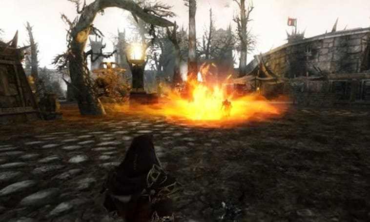 Darkfall Unholy Wars video details the Fire Mage