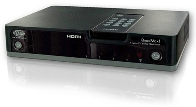 The HMS-41 auto-HDMI switch: 1.3a and Simplay HD certified... not that it matters