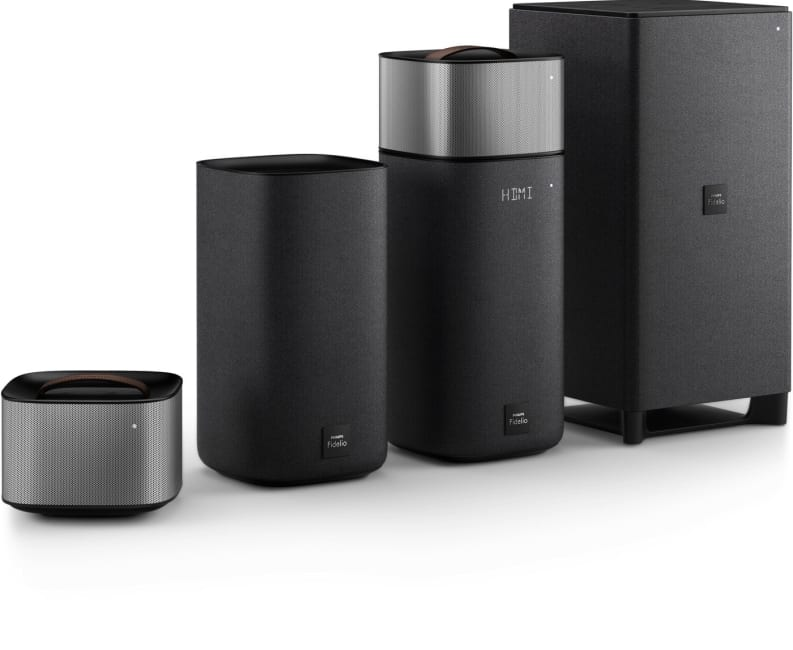 Philips' living room audio gear includes 'detachable' speakers