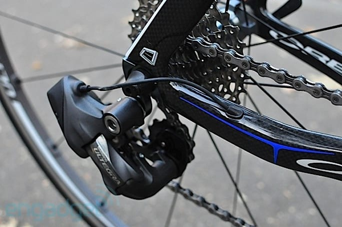 Shimano showcases the Ultegra Di2 electronic bike gears, we go for a ride