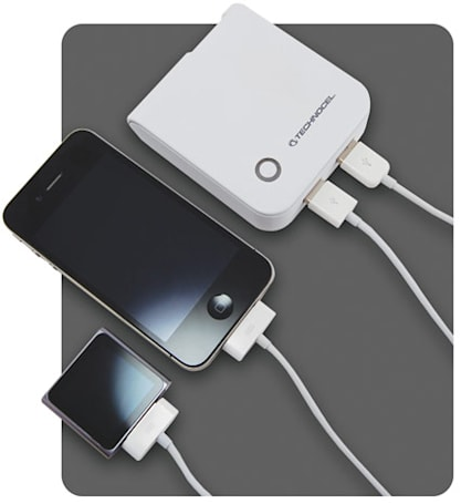 Technocel's $70 PowerPak Duo battery pack doubles up on USB ports, ships April 1st