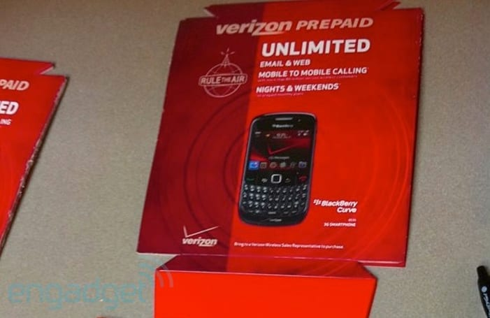 Verizon officially announces prepaid smartphone data packages