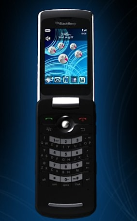 RIM finally comes clean with BlackBerry Pearl Flip 8220
