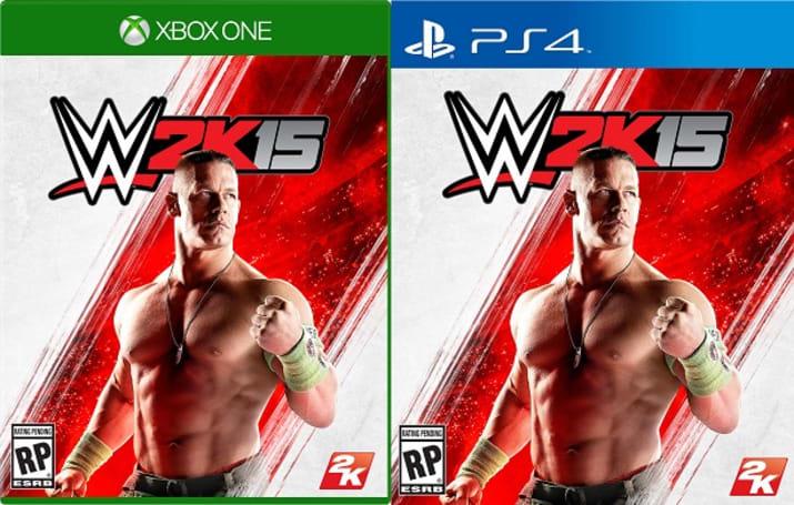 John Cena sucks up the spotlight on WWE 2K15's cover