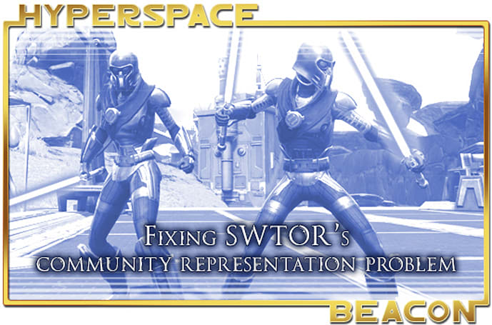 Hyperspace Beacon: Fixing SWTOR's community representation problem