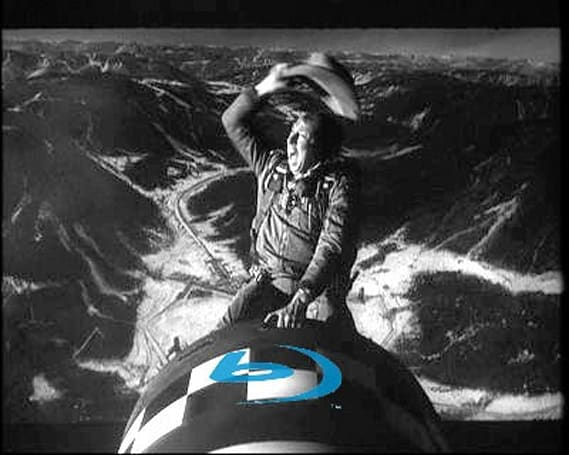 Dr. Strangelove to ride in on Blu-ray this summer