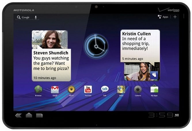 Motoblur coming to Xoom as software update, still considered Google flagship product? (update)