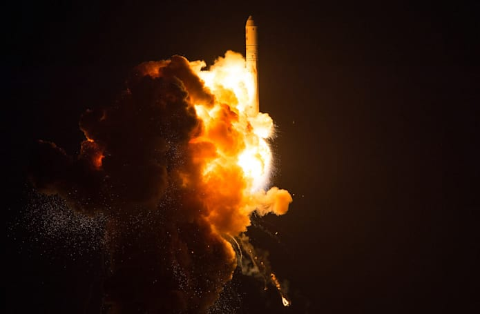 NASA photos show the Antares rocket explosion in gritty detail