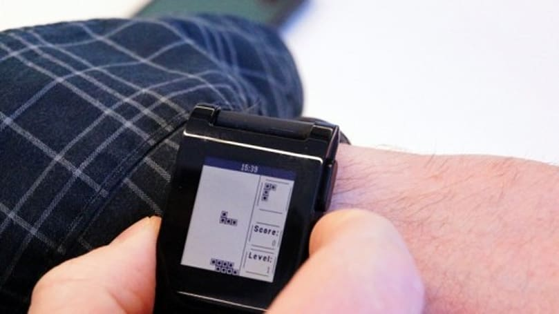 Pebblis app crams Tetris clone into your Pebble watch