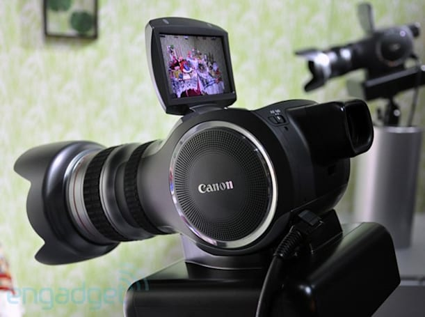 Canon's 4k Multipurpose Camera concept weakens knees, shoots video. We go hands-on! (Video)