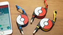 ポケモンGO Plusと空目する「スマホ充電ケーブル」、1780円でcheeroが発売。青・赤・黄の3色展開