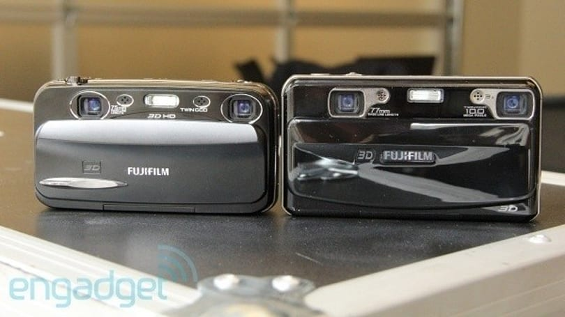 Fujifilm introduces Finepix Real 3D W3 camera, we go hands-on