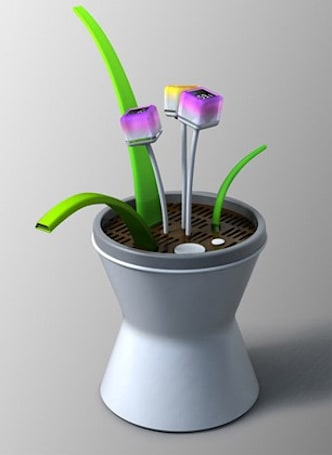 Conceptual artificial plant enables you to practice before slaying flora