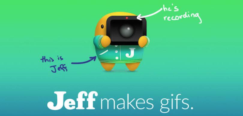 Jeff: Screen sharing through GIFs
