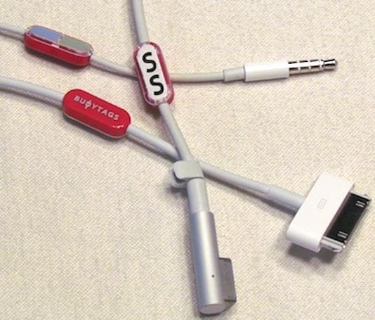 Buoy Tags: A simple and effective way to organize cables