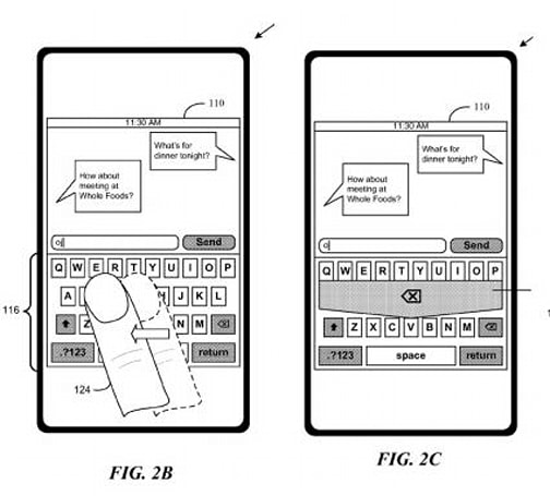 Apple files patent for gesture-based text editing