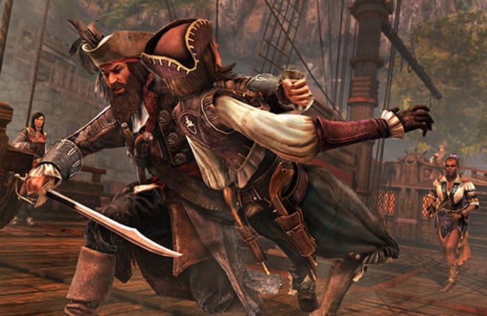 Light yer beards, maties, Blackbeard joins Assassin's Creed 4 tomorrow