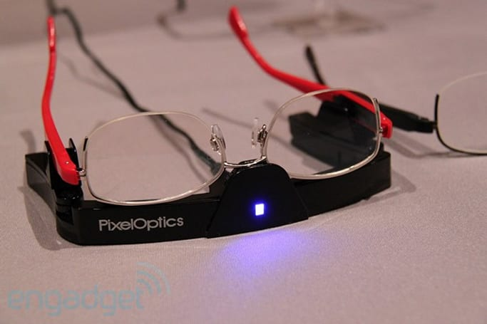 PixelOptics emPower! electronic eyeglasses hands-on